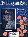 Sheet music cover - MY BELGIAN ROSE (1918).jpg