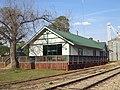 Shellman Railroad Depot, SouthWest corner.JPG
