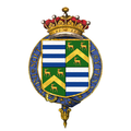 Shield of arms of Thomas de Grey, 2nd Earl de Grey, KG, PC, FRS.png