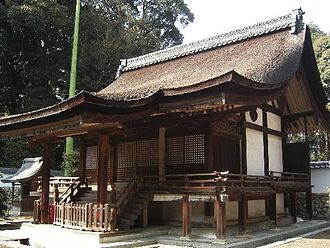 Hirairi - Hirairi style: the entrance is on the non-gabled side