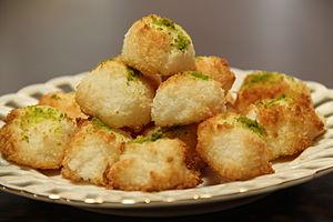 کتاب آشپزی/شیرینی نارگیلی - ویکیکتاب