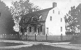 Shirley Shaker Village - Shirley Shaker Meetinghouse in 1910