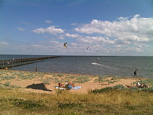 Shoeburyness - Image: Shoeburyness east beach