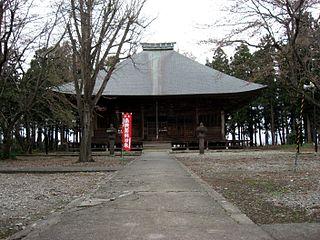 Shōjō-ji Buddhist temple in Fukushima Prefecture, Japan