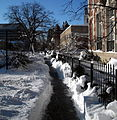 Shoveled sidewalk - 20th Street, N.W..JPG