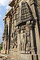 Shrine wall relief sculpture in Shantinatha Basadi in Jinanathapura 1.JPG