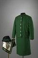 Sibylla: hatt jägarmodell, sjal, jacka jaktkostym, kjol jaktkostym, skjortblus, jaktkostym - Livrustkammaren - 86098.tif