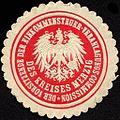 Siegelmarke Der Vorsitzende der Einkommensteuer - Veranlagungs - Commission des Kreises Merzig W0232397.jpg
