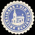 Siegelmarke Die Gemeinde Beichlingen W0234809.jpg