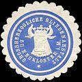 Siegelmarke Grossherzogliche Blindenanstalt zu Neukloster in Mecklenburg W0226079.jpg