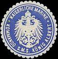 Siegelmarke K. Marine Kommando S.M.S. König Albert W0357621.jpg