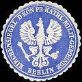 Siegelmarke Kirchensiegel der Königlich Preussischen katholischen Militär - Gemeinde - Berlin W0226193.jpg