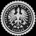 Siegelmarke Landrathsamt des Kreises - Luckau W0224456.jpg