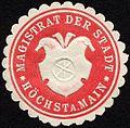 Siegelmarke Magistrat der Stadt - Höchst am Main W0232690.jpg