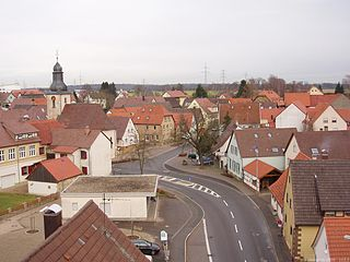 Siegelsbach Place in Baden-Württemberg, Germany
