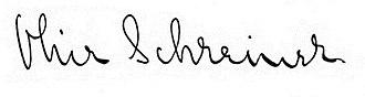 Olive Schreiner - Image: Signature of Olive Schreiner