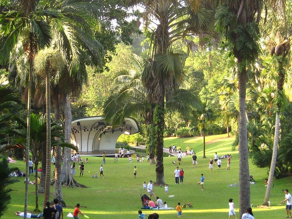 Singapore Botanic Gardens Palm Valley