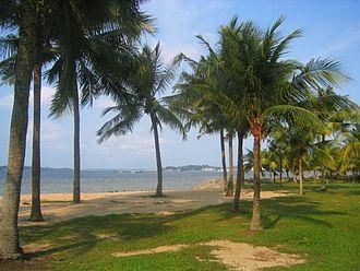 East Region, Singapore - Image: Singapur Strand