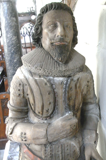 Robert Chichester (died 1627) Knight of the Bath, lord of the manor of Raleigh in the parish of Pilton in Devon, was Custos Rotulorum and Deputy Lieutenant of Devon