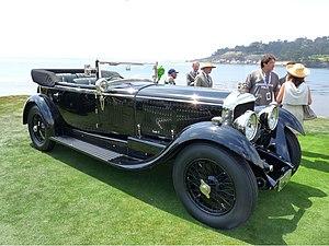 Michael Kadoorie - Sir Michael's Bentley Speed Six Mulliner drophead coupé