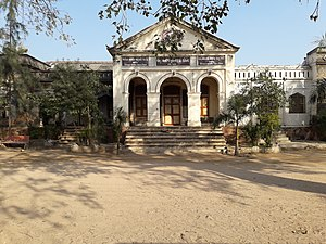 Umashankar Joshi - Sir Pratap High School of Idar where Joshi studied till 1927