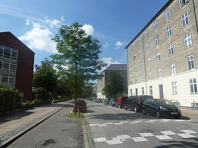 How to get to Sjællandsgade with public transit - About the place