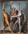 Sketch for the Oath on the Rutli, 1779-1781, by Henry Fuseli - Art Institute of Chicago - DSC09518.JPG