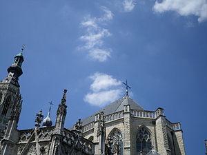 Grote Kerk (Breda) - Image: Sky above the Grote Kerk