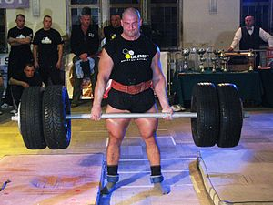 English: Slawomir Orzel - a strength athlete f...