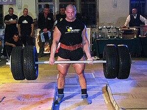 English: Slawomir Orzel - a strength athlete f...
