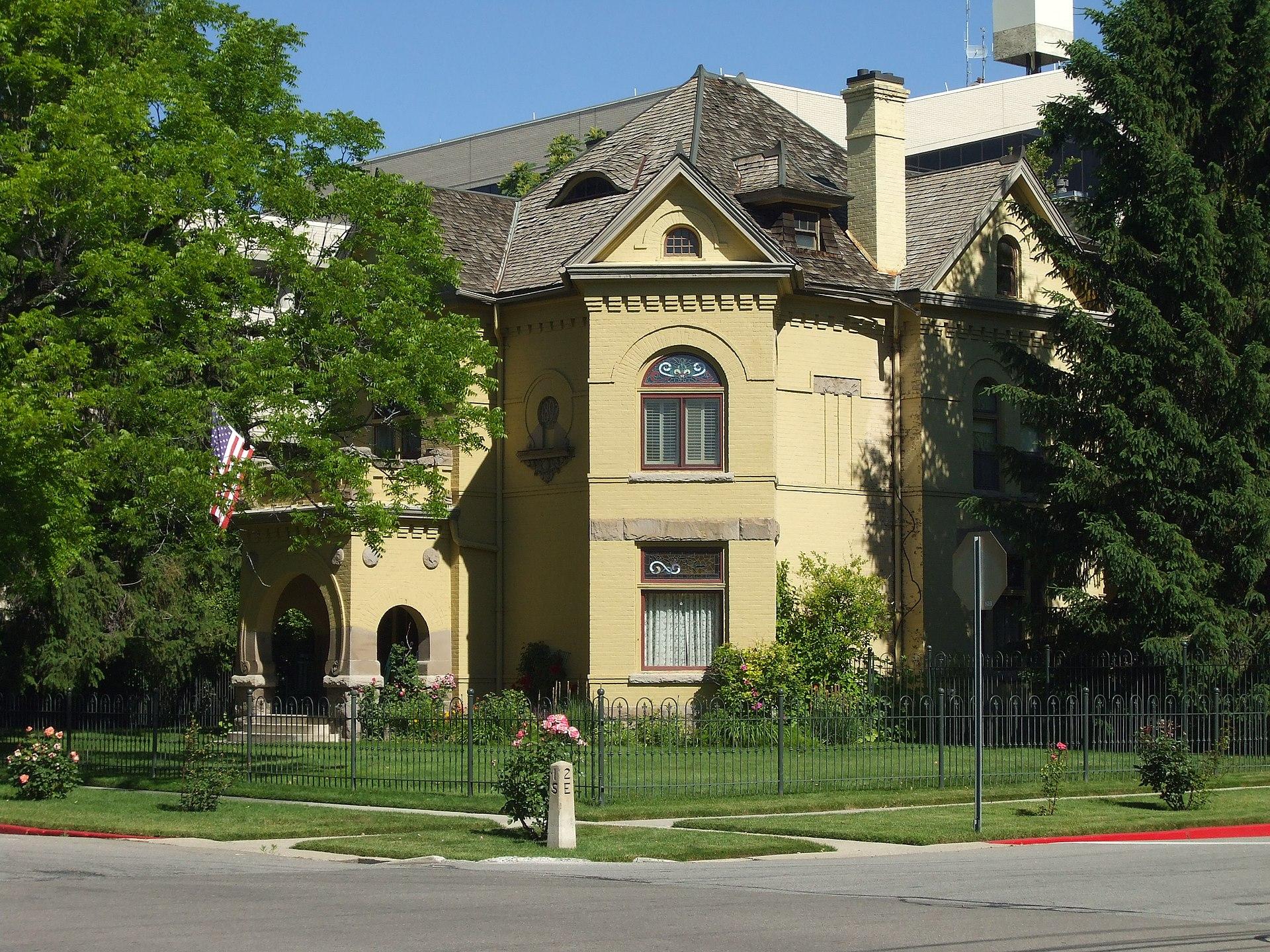 Reed o smoot house wikipedia for Utah house