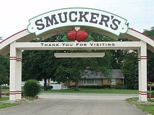 English: Smuckers sign