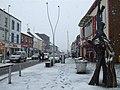 Snow, Market Street, Omagh - geograph.org.uk - 1691367.jpg