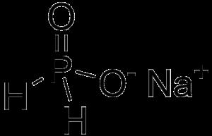 Sodium hypophosphite - Image: Sodium hypophosphite