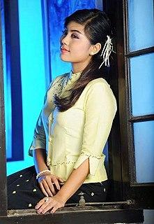 Soe Pyae Thazin Burmese actress and singer