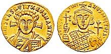 Solidus-Justinian II-Christ b-sb1413.jpg