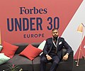 Somdip Dey at 2019 Forbes Under 30 Summit - Europe.jpg
