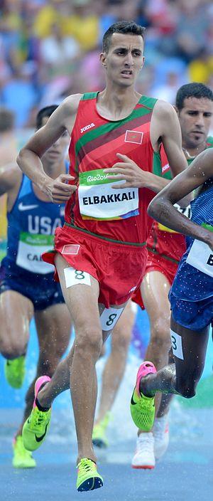 Soufiane El Bakkali - El Bakkali at the 2016 Olympics