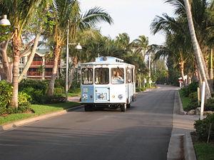 Captiva, Florida - Plantation Rd. inside South Seas Island Resort in Captiva
