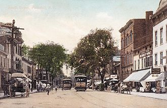 Peekskill, New York - South Street in 1908