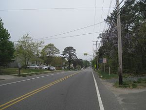 South Toms River, New Jersey - South Toms River as seen from Dover Road (CR 530)