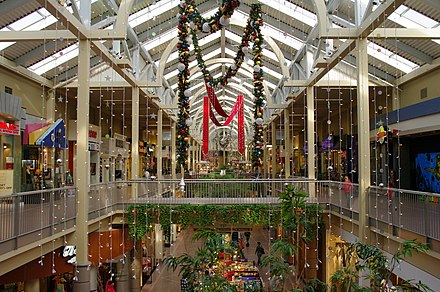 The Shops at South Town mall in Sandy, before 2017 redevelopment South Towne Center at Christmas.jpg