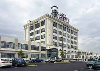 Southern Biscuit Company factory in Richmond, Virginia