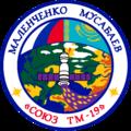 Soyuz TM-19 patch