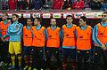 Spain - Chile - 10-09-2013 - Geneva - Mario Suarez, Iker Casillas, Jesus Navas, Jordi Alba, Andres Iniesta, Nacho, Koke and Alvaro Negredo.jpg