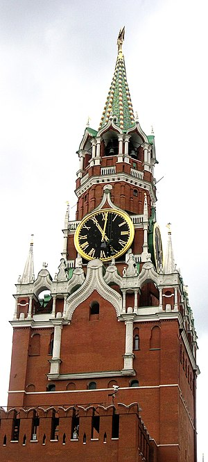 Rope access - Rope access to a turret clock