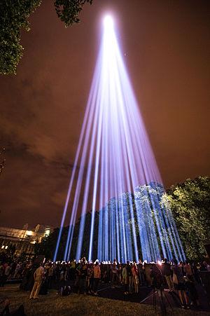 Spectra (installation) - Spectra London, Victoria Tower Gardens