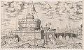 Speculum Romanae Magnificentiae- Castello Sant' Angelo MET DP870761.jpg
