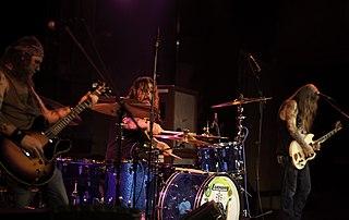 Spirit Caravan band that plays stoner rock