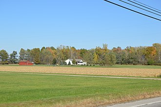Springfield Township, Richland County, Ohio - Fields west of Ontario